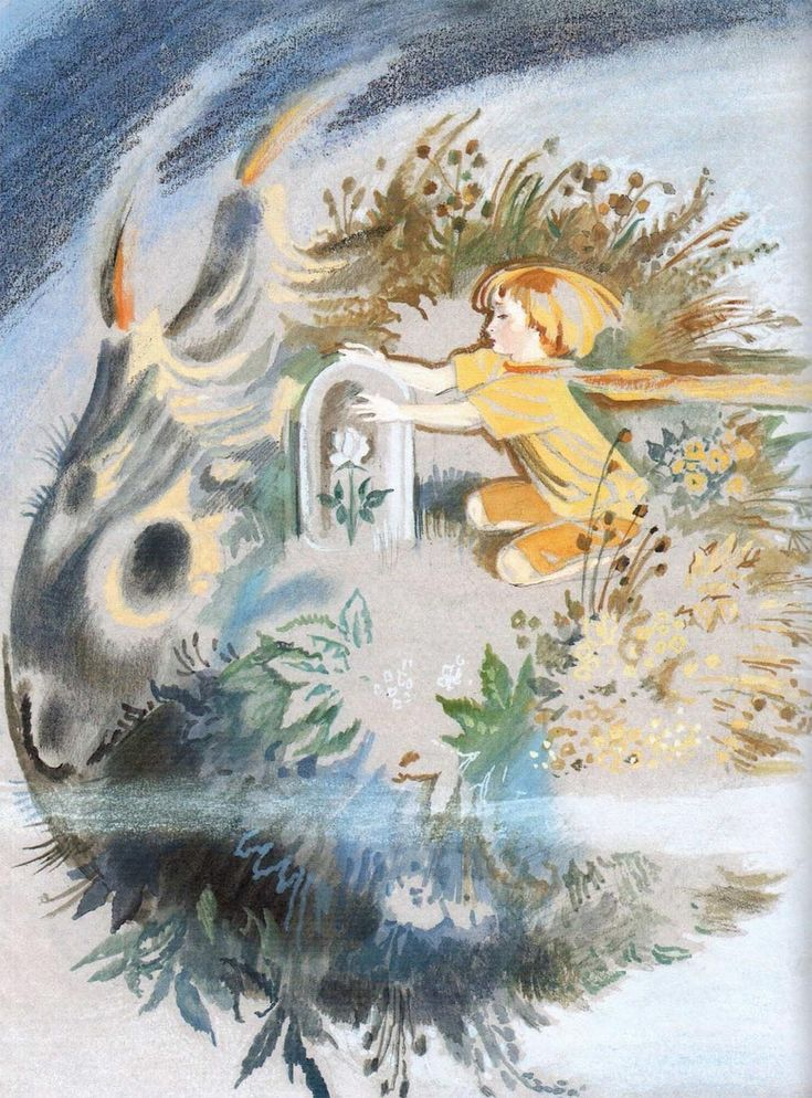 """Nika Golz. Illustration from """"The Little Prince."""""""
