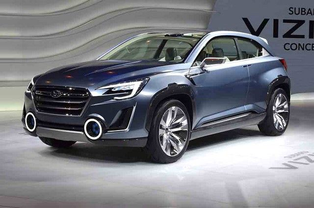 2017 Subaru Tribeca front view design