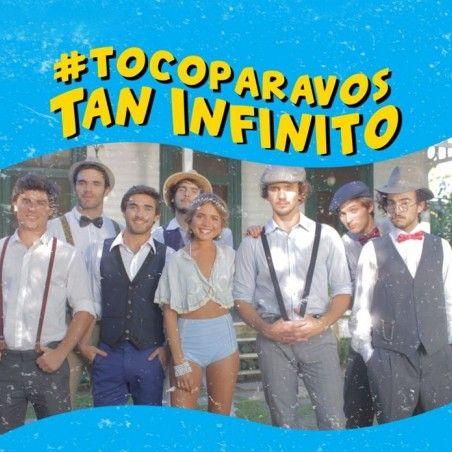#TocoParaVos presenta su nuevo tema y video Tan Infinito   Luego de un increíble 2016 donde sus canciones se apoderaron de los rankings de música y se impusieron en boliches radios y cuentas digitales y con un inicio de 2017 full time de conciertos de verano en Argentina Chile y Uruguay los chicos de #TocoParaVos siguen trabajando y no paran!  Ahora la agrupación de cumbia pop uruguaya lanza su nuevo tema y video Tan Infinito una canción bailable de amor divertida fresca juvenil y veraniega…
