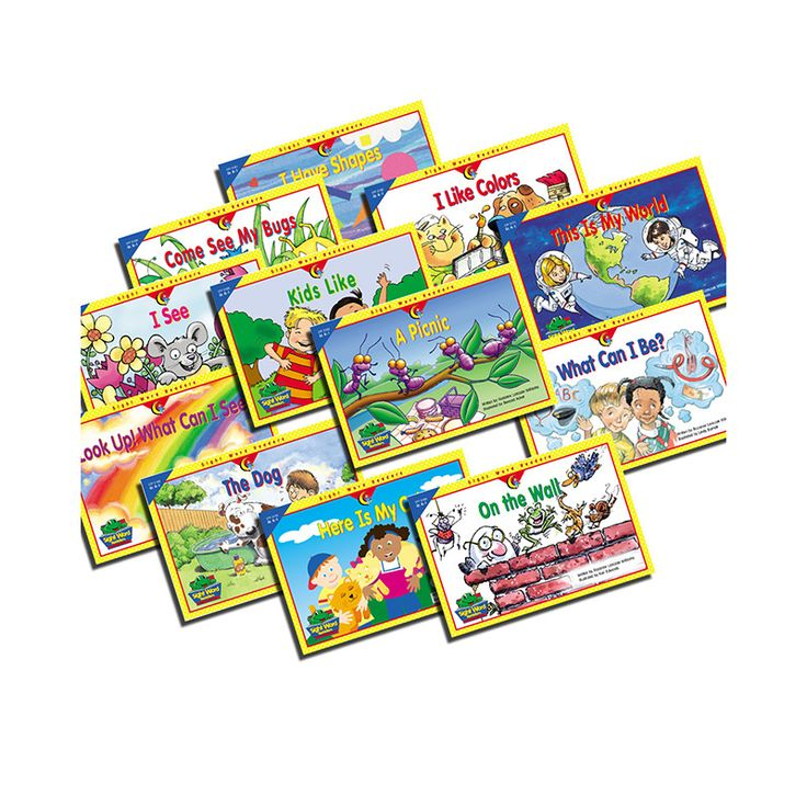 SIGHT WORD READERS K-1 12 BOOKS