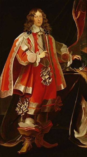 Portrait of Ferdinand Charles,Archduke of Austria by Frans Luycx,1648