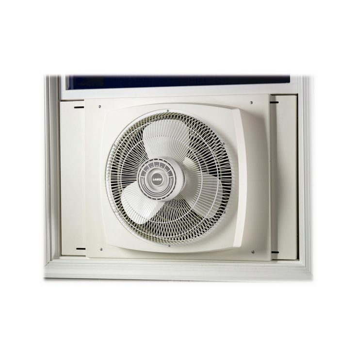 Lasko 2155A 16 in. Electrically Reversible Window Fan - 046013210012
