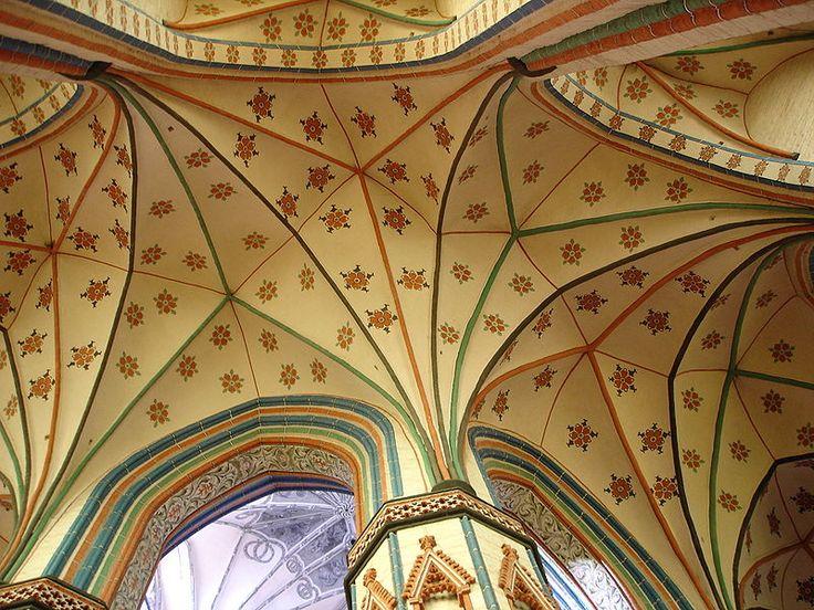 Deckengewölbe Marienkirche in Stargard