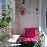 Küçük Balkon Önerileri | | Dekorasyon Cini