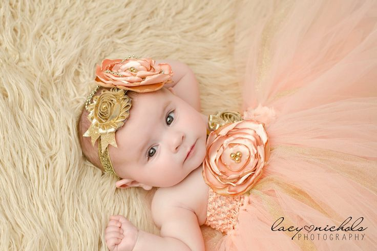 Gorgeous Beautiful Peach and Gold Satin Shabby Chic Flower Tutu Dress for Baby Girl 6-18 Months old First Birthday by AverysCoutureLook on Etsy https://www.etsy.com/listing/229784224/gorgeous-beautiful-peach-and-gold-satin