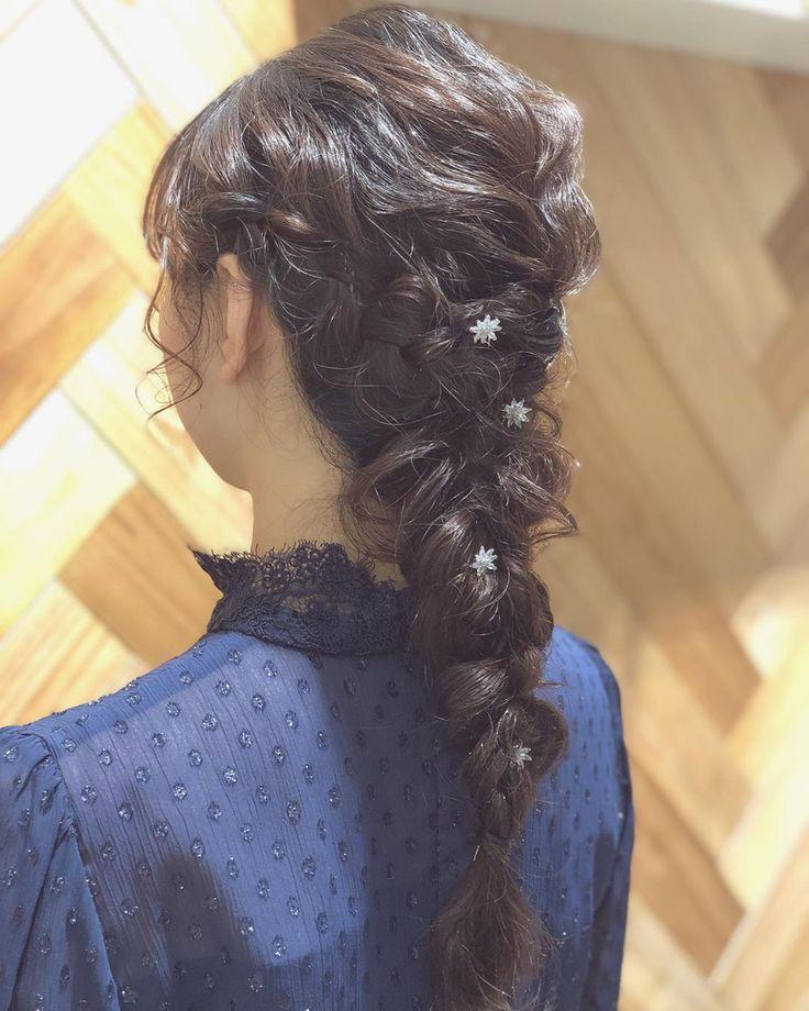 おはようございます🌞 * * * * #あみおろし #hairarrange#hair#hairs…