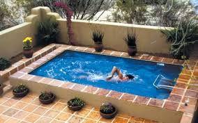 Quintal pequeno com resultado de imagem da piscina   – poscina