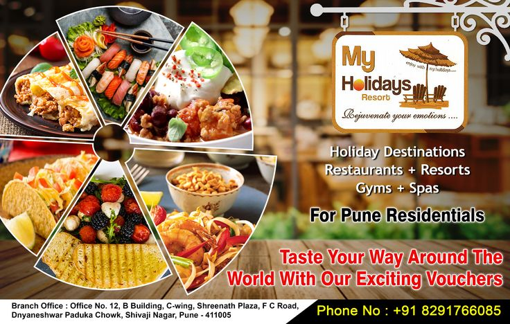Taste, Your Way!  With Our Exciting Vouchers  Call Now - 08291766085  #voucher #mypune #myvoucher #myholiday #pune #deals #mydeals #gym #bodytherapy #hairstyles #haircut #hairdresssalon #fitness #fitnessmotivation #thaispa #bodybuilding #brunch #games #lonavala #gethealthy #panchgani #bangkok #thailand #singapore #malaysia #resort