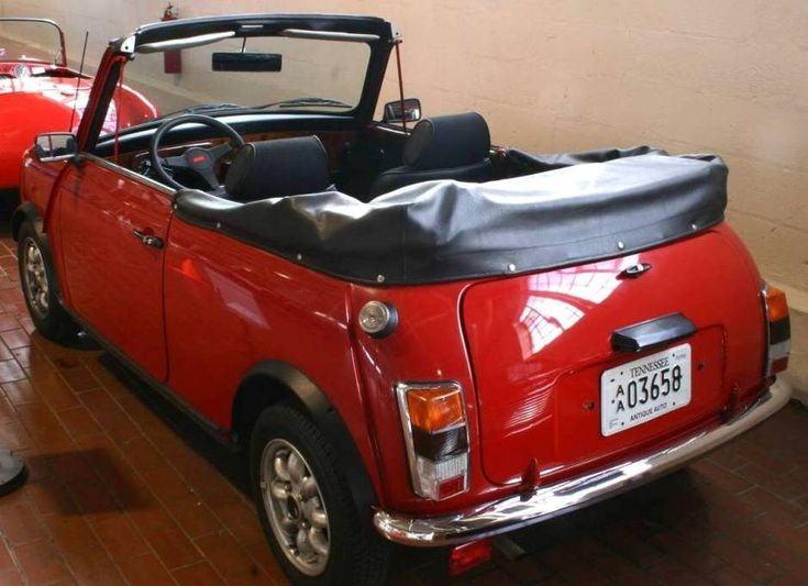 1969 austin mini cabriolet conversion mini pinterest minis. Black Bedroom Furniture Sets. Home Design Ideas