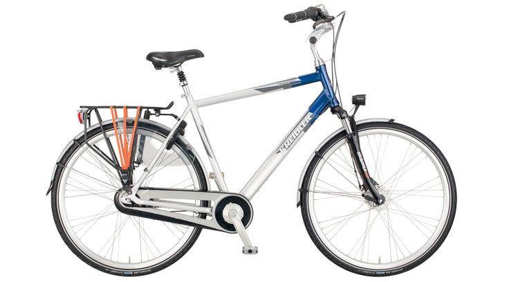 Nisko wyprofilowana rama sprawia, że wsiadanie na rower jest łatwe, a wyprostowana pozycja rowerzysty poprawia komfort i balans podczas jazdy. Kolekcja City skupia się na ergonomicznym i wygodnym osprzęcie, występuje w wielu barwach i z pewnością każdy znajdzie coś dla siebie.