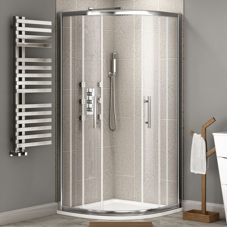 800x800mm - 8mm - Premium EasyClean Quadrant Shower Enclosure