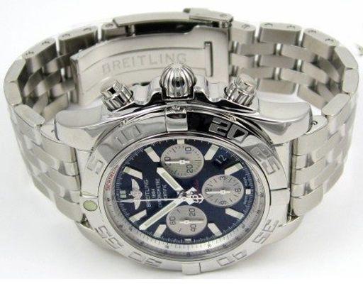 Réplica De Relojes De Breitling Chronomat hombres acero inoxidable BRBRT1408