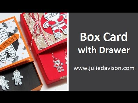 Box Card with Drawer & Shrinky Dink Earrings