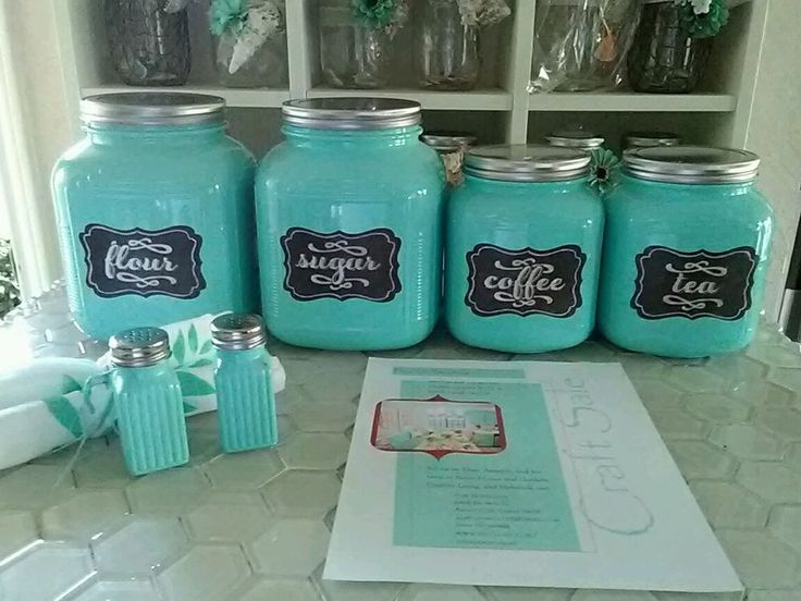 Beautiful Heavy Enamel High Gloss Paint. Farmhouse Country look. Complete with 2 gallon size and 2 half gallon size jars. Choose distressed (sanded over random raised areas to give that used,antique look) or non distressed. | eBay!