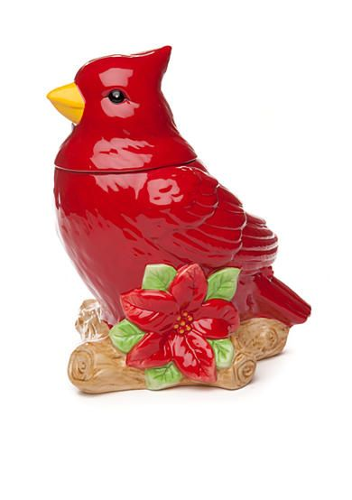 Home Accents® 2015 Christmas Cardinal Cookie Jar by Belk Stores