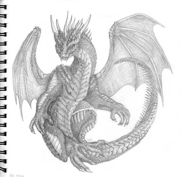 A dragon by ~BraveBabysitter on deviantART
