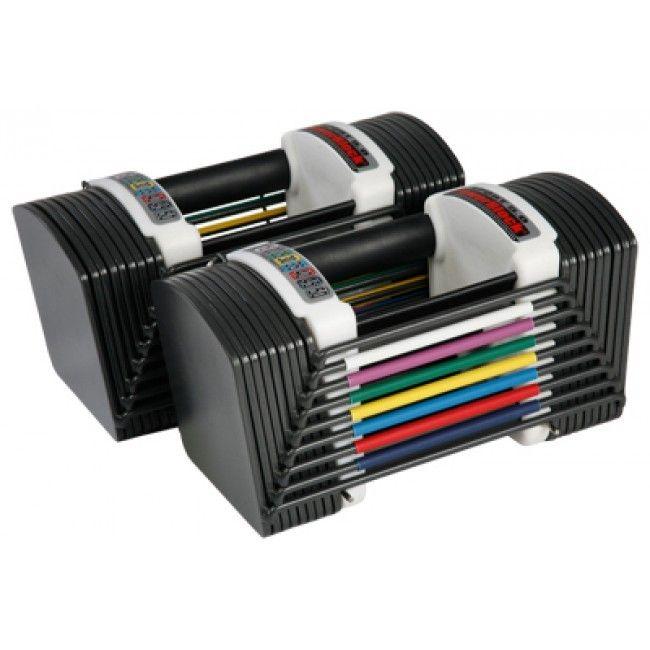 PowerBlock Sport 5.0 Adjustable Dumbbells Set 2-22.5 kg - FysioSupplies