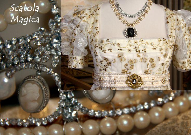 Dettaglio costume stile Impero, by Scatola Magica