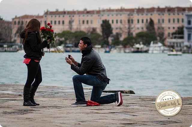 Bride in Italy: Proposal | Venezia e rose rosse - Luca Faz
