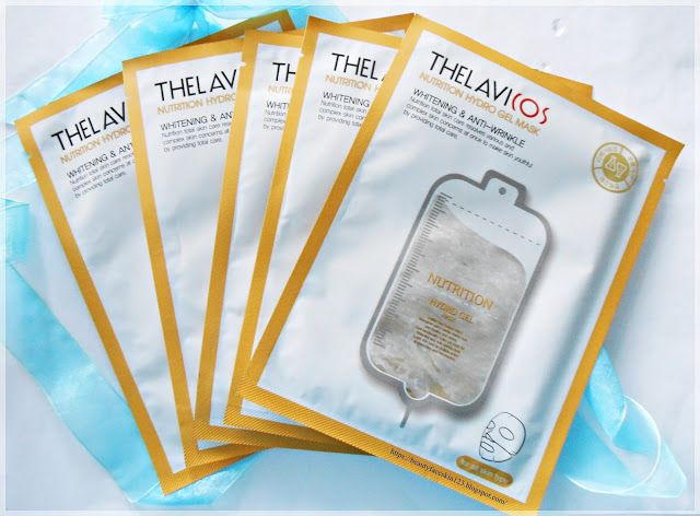 Mask developed by dermatologist Korea clinic  THELAVICOS Nutrition Hydro Gel Mask