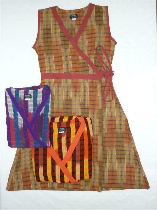 Kleid Gewickelt Wickelkleid Baumwolle Guatemala Neu Wickelkleid Ideas Of Wickelkleid