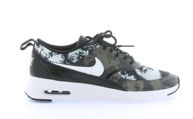 Nike Air Max Thea Print Black White Dark Grey