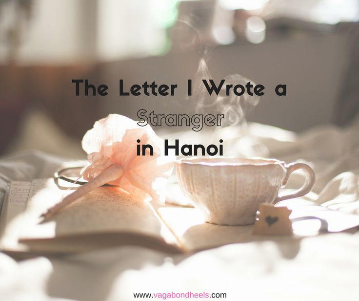 We should all start writing letters to strangers more often #vagabondheels #writing #letters #blogger