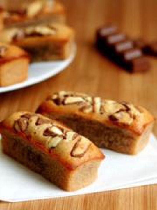 Financiers au chocolat Kinder