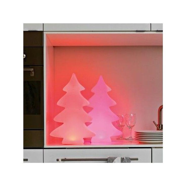 Arbre Lumineux 40 Cm Led Multicolore D'intérieur – Taille : Taille Unique