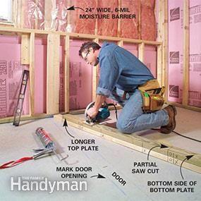 Best 25 framing basement walls ideas on pinterest for Appraisal value of unfinished basement