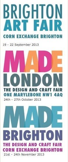 MADE LONDON October 2013/ Art and Craft Fair/ at Marylebone/ We aimed to present an enjoyable event showcasing the very best and most original makers in this country and beyond exhibiting the highest quality contemporary craft and design.