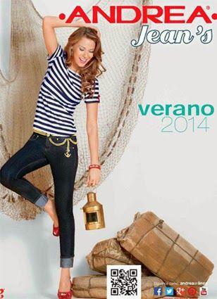 catalogo andrea 2014 jeans verano