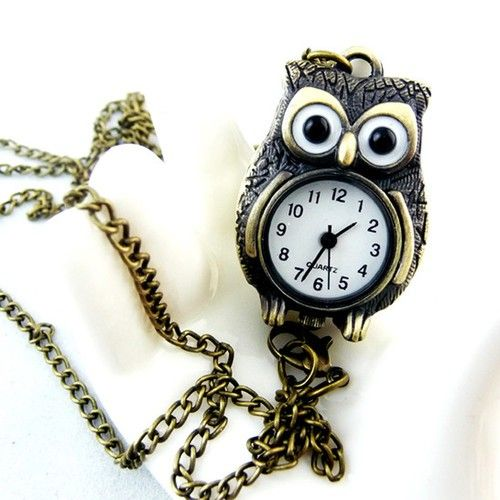 421 best owl necklace 3 images on pinterest owl jewelry owl owl pocket watch necklace long chain pendant necklace owl necklace loveitsomuch mozeypictures Images