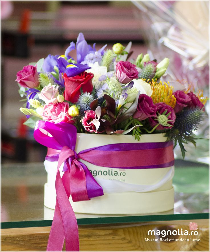 Colorful flower arrangement for a bright day.