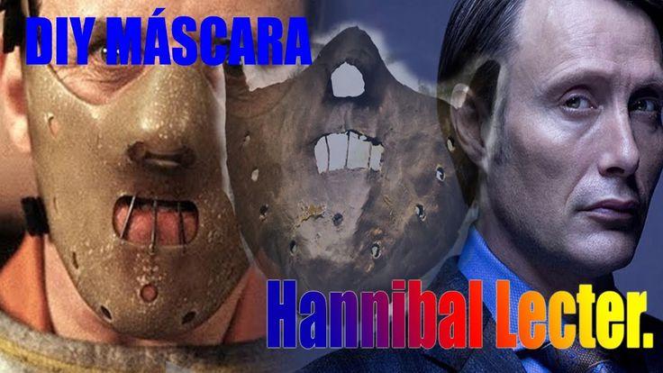 DIY MÁSCARA DE HANNIBAL LECTER #MASK #HANNIBAL LECTER