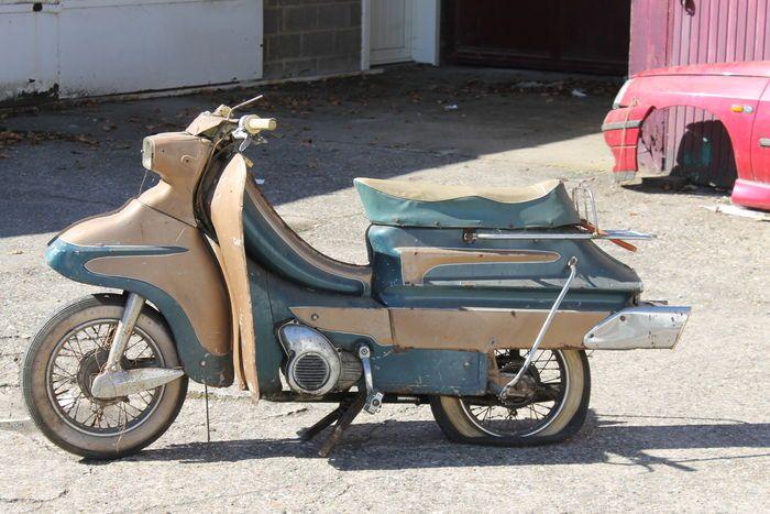 Flandria Parisienne Scooter - c.1962-1965