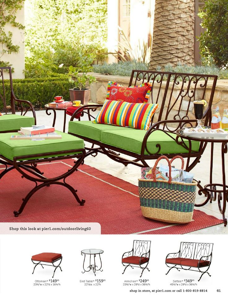 Shop Pier 1 Outdoor Furniture: The Isabelle Collection.