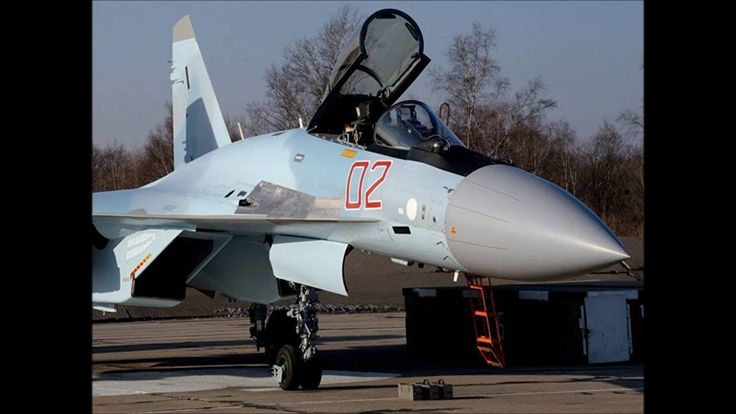 Syria Crisis Russia's Su35 jets are most advanced jets at Russian airbas...
