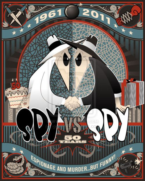 spy vs spy!
