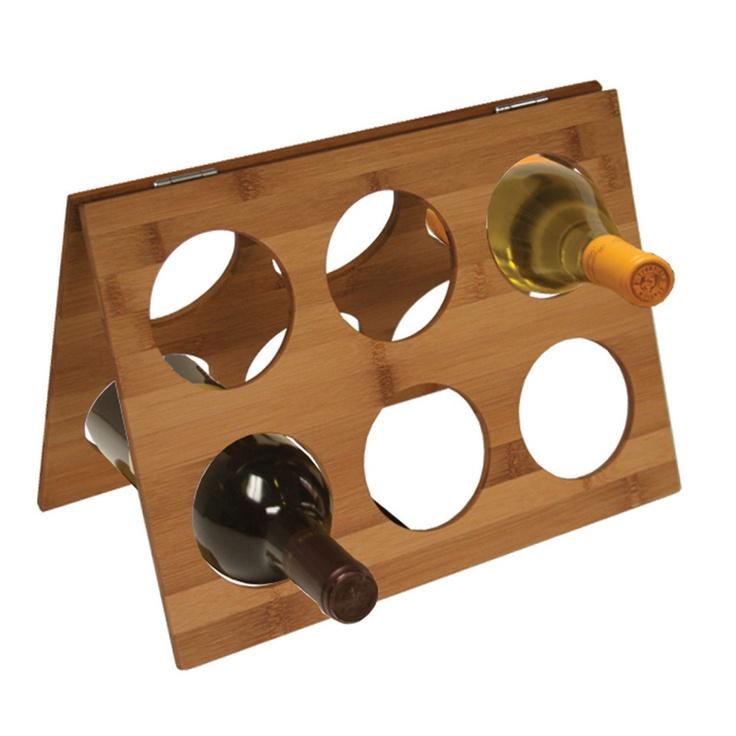 Home Basics Bamboo Wine Rack Beyond The