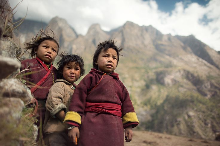 Wind-hardened by  Anton Jankovoy :: Nepal, Himalayas, Manaslu restricted area, Prok village (2,380 m), 2012   1/1250 sec, f/1.4, ISO 100, FL 24 mm