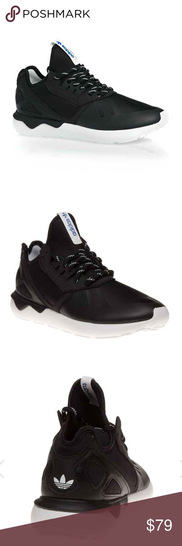 Adidas Tubular Original Runner Shoes Size 12 Men's The Tubular Runner from adidas is a contemporary sneaker in a breathable, lightweight silhouette. Black nylon uppers feature suede overlays and a branded heel stabiliser creating signature athletic edge. EVA tube sole completes this retro upgrade. adidas Shoes Athletic Shoes