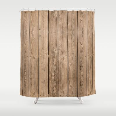 Wood I Shower Curtain by Bruce Stanfield - $68.00