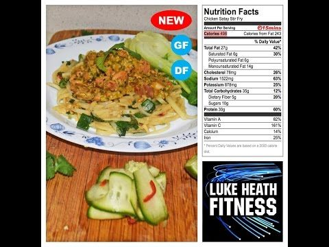 Chicken Satay Stir Fry – Luke Heath Fitness