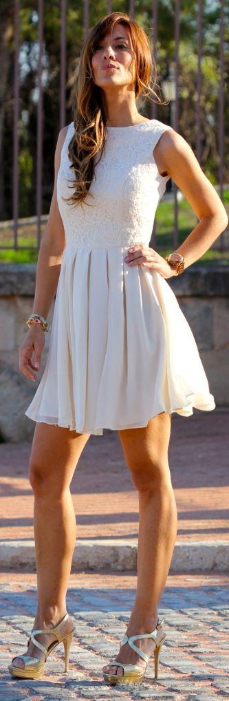 Kuka & Chic Shop White Night Out Dress