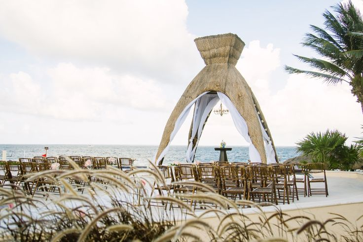 A beautiful ceremony site setup for my gorgeous couple.