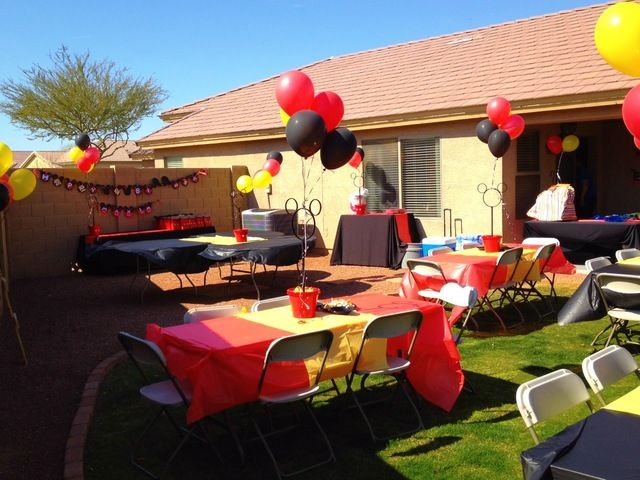 Mickey Mouse Birthday Party Ideas   Photo 8 of 24   Catch My Party
