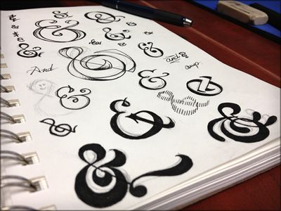 & ampersand LOVE: Apersand, Ampersand Ampersand, Ampersand Fixation, Gorgeous Ampersands, Calligraphy Typography, Ampersand Examples, Beautiful Ampersands, Ampersand Affair, Ampersand Sketch