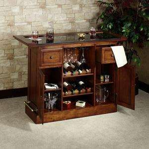 Davin Bar Furniture - Home Bar Set - Photo