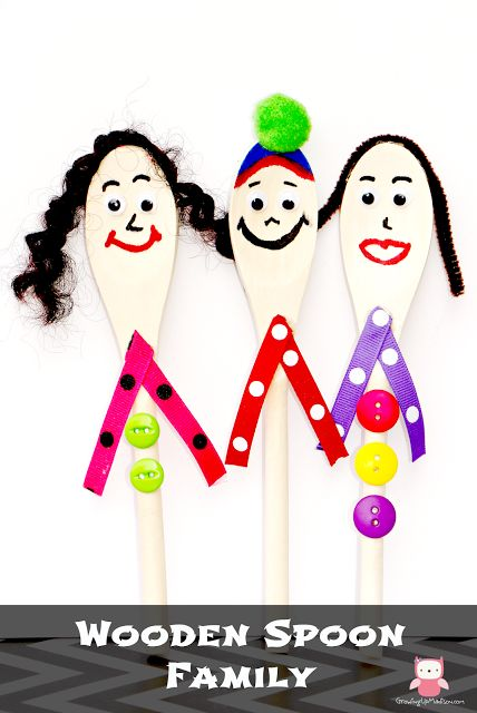 Our Wooden Spoon Family - Crafts for Kids | Growing up Madison
